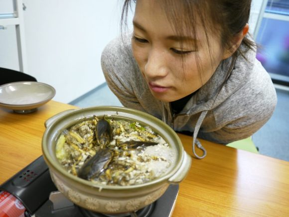Beat the winter blues with an insect hotpot filled with crickets, worms, and giant water bugs