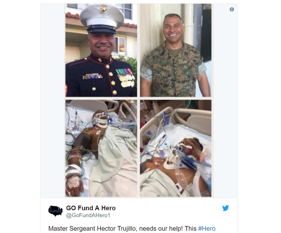 U.S. Marine hit by car rescuing Japanese driver from traffic accident in Okinawa, fractures skull
