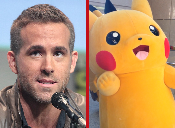 Deadpika? Pikachu to be played by Ryan Reynolds in live-action Pokémon movie