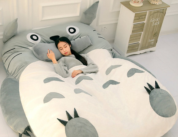 "Chinese ""Chinchilla bed"", which looks uncannily like Studio Ghibli's Totoro, available to buy"