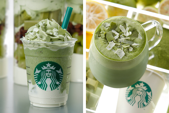 "Starbucks promises ""new world of matcha"" with green tea cheese Frappuccino, citrus green tea"