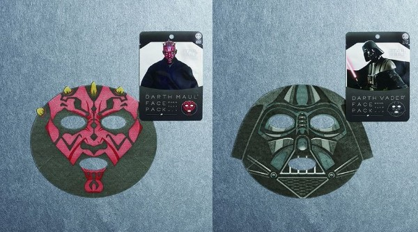 Give in to the beautiful side of the Force with Japan's new Star Wars skincare masks