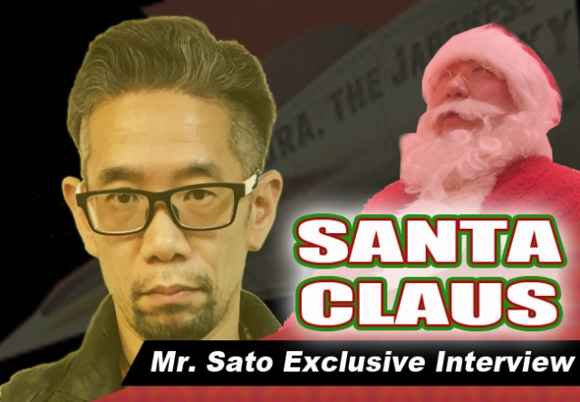 Mr. Sato interviews: One-on-one with Japanese Santa