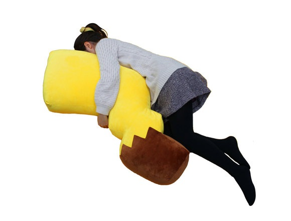 New soft and huggable Pikachu tail-pillow is every Pokémon fan's dream come true