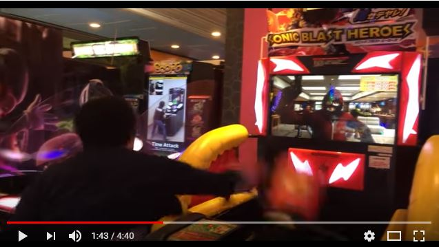 Video game arcade in Japan invites you to resist Christmas…with fists…