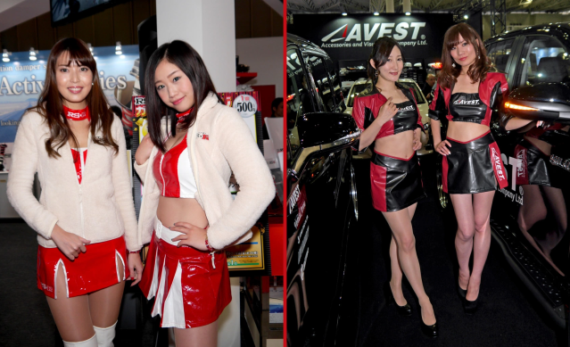 The lovely booth ladies of Tokyo Auto Salon 2018【Photos】