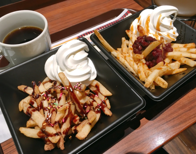 Japan's French fry sundaes are here, but which one should you try? We find out【Taste test】