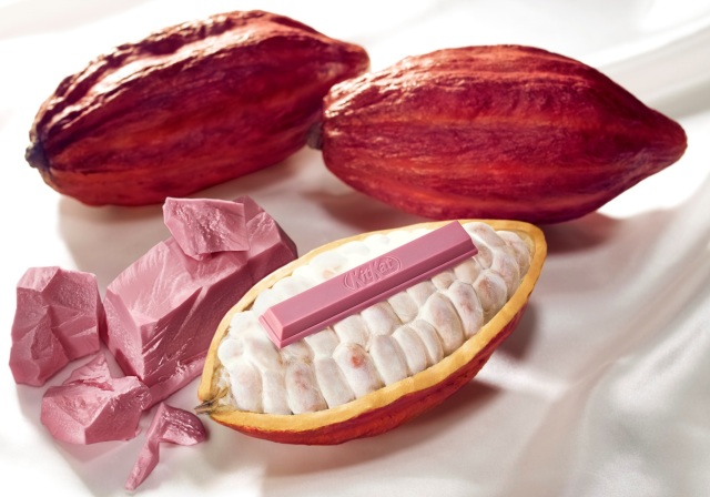 New Japanese Kit Kat debuts world's first natural ruby chocolate