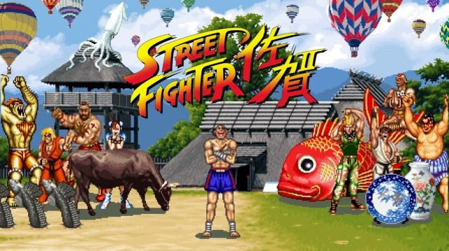 Street Fighter's Sagat named ambassador of Saga City, limited edition SFII goods to be sold