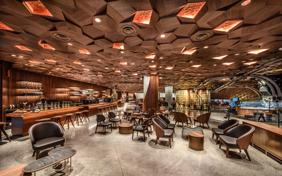 Starbucks opens its second Roastery, the biggest Starbucks coffee shop yet, in Shanghai