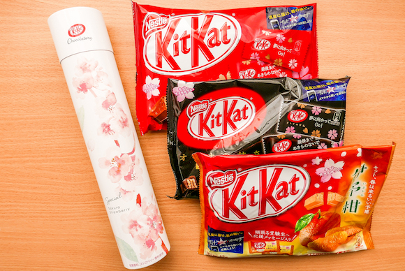 New sakura Kit Kat range celebrates cherry blossom season in Japan