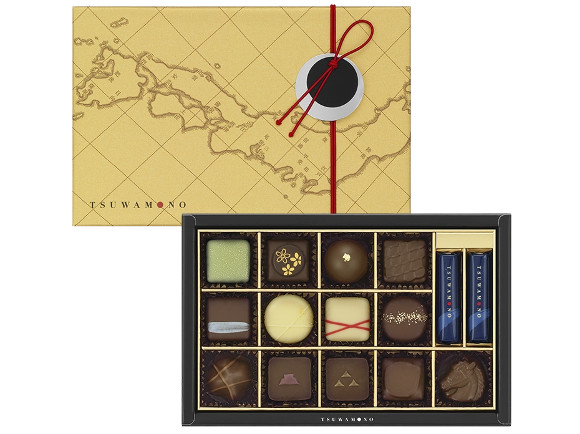 This Valentine's Day, wow your special someone with boozy samurai warlord chocolates!