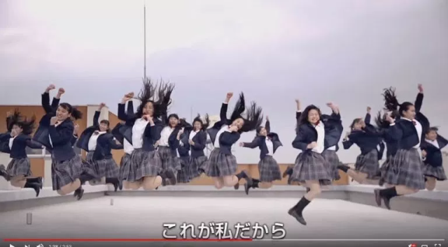 "Tomioka High Dance Club bursts their bubble for a new ""This Is Me"" routine"