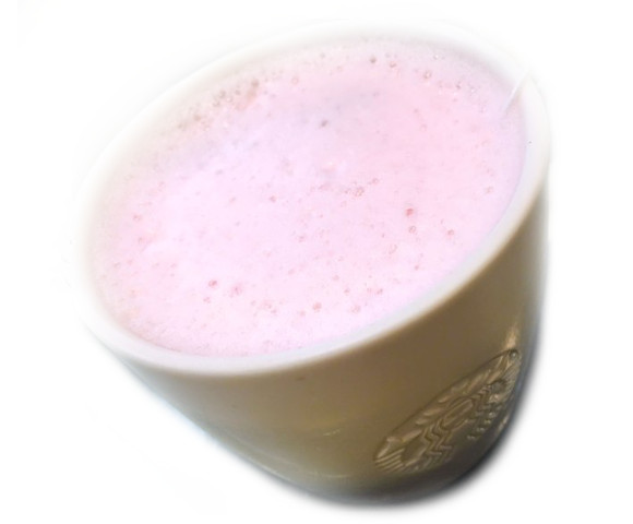 We try the heavenly Starbucks pink latte in Japan 【Taste Test】