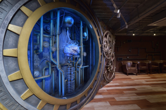 "Tokyo's new sleep-inducing ""time machine"" head massage parlor looks like steampunk/sci-fi day spa"