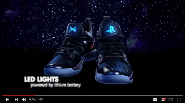 NBA star collaborates with Sony and Nike to create awesome PlayStation-themed basketball shoes