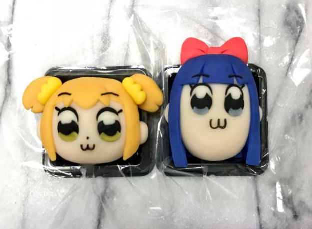 The most awesome anime fan art is fan art that's also traditional Japanese sweets【Photos】
