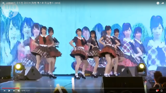 Subpar AKB48 performance in Thailand earns scalding remarks from netizens 【Video】