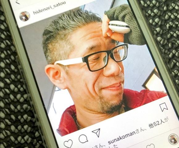It's selfie time! Mr. Sato wins our hearts with Instagram poses popular among Japanese women