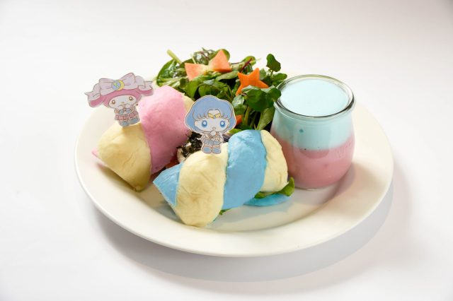 Sailor Moon and My Melody team up again, this time for a super sweet themed cafe