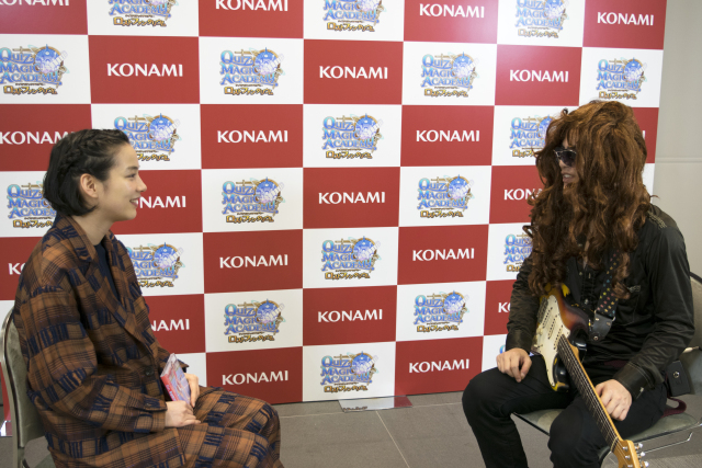 Seiji and the spirit of Yngwie Malmsteen barely interview a Japanese actress【Interview】