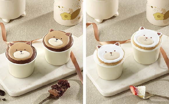 Starbucks Korea's Year of the Dog puppy cupcakes look adorable, get stabbed in the face【Videos】