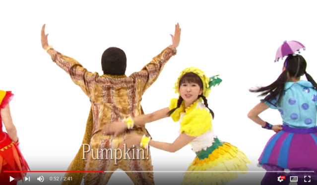 "PPAP singer gets slapped on the butt by an idol in video for his newest song, ""Vegetable""【Video】"