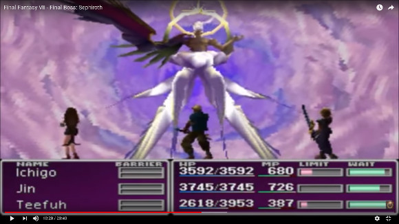 Japanese netizens rank the top 10 most memorable Final Fantasy bosses