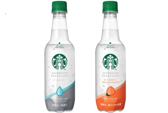 Grab a clear sparkling drink from Starbucks at a convenience store in Japan and get refreshed!