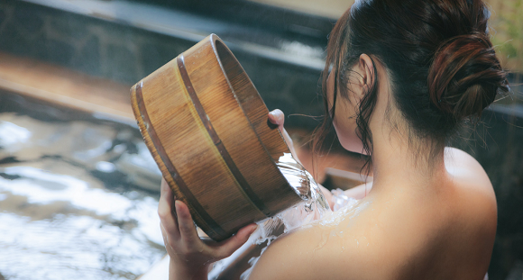 How old is too old for a boy to go into the women's hot spring bath in Japan?