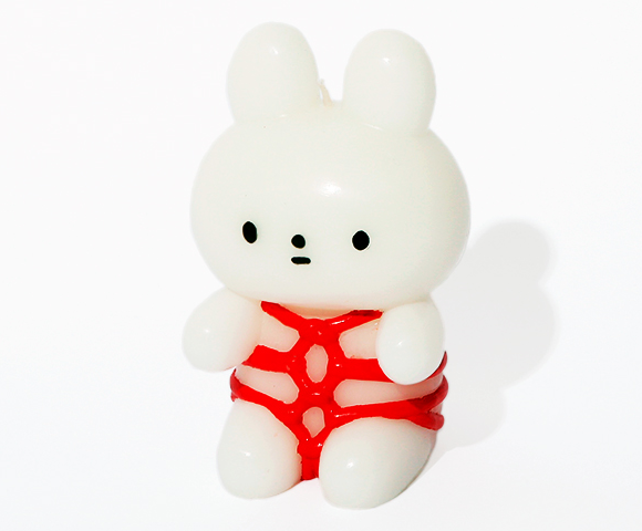 Japan has a bondage bunny character with its own line of kinky cute merchandise
