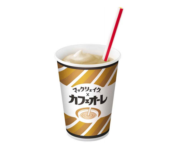 McDonald's Japan combines beloved beverages of adults and kids with new coffee milkshakes