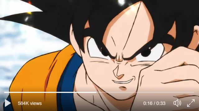 Dragon Ball Super movie's first preview appears, producer promises simultaneous worldwide release
