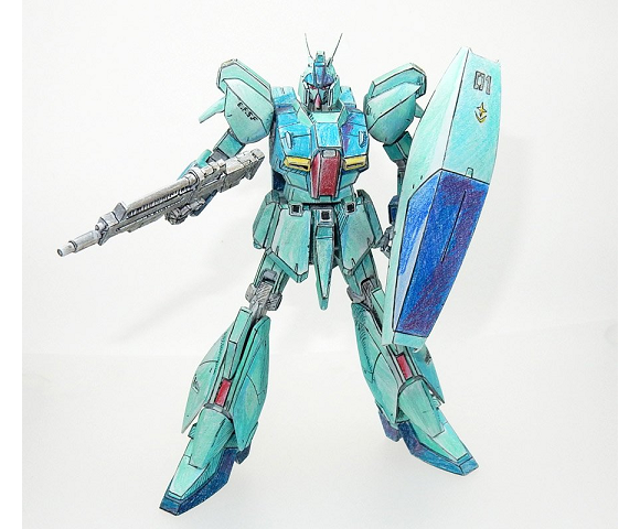 "This detailed Gundam ""sketch"" is actually an unbelievably colored 3-D model kit!【Photos】"