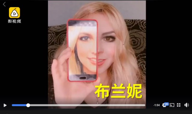 Chinese woman dazzles the net with her transformations into Western celebrities【Video】