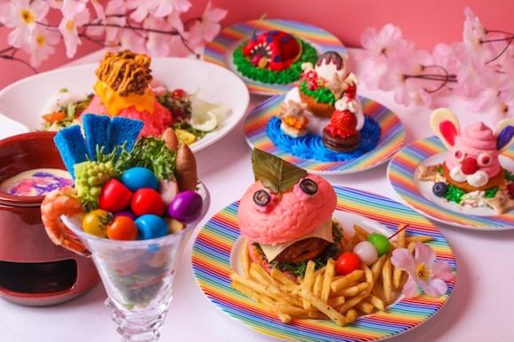 Kawaii Monster Cafe in Harajuku launches spring menu full of crazy kawaii-ness