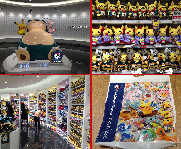 Tokyo just got a brand-new Pokémon megastore, and here's a massive look at its exclusive items