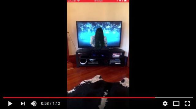 YouTuber takes horror to the next level by recreating Sadako's spooky TV screen exit in AR【Video】
