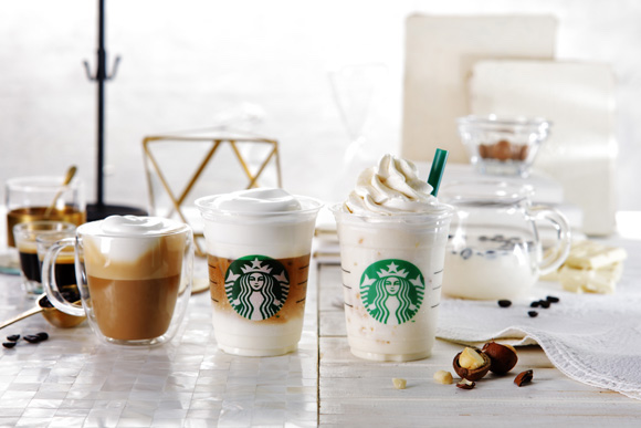 "Starbucks Japan kicks off New Starbucks Coffee Journey with unique ""white coffee"" drinks"