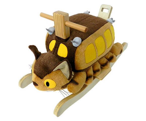 Nothing can make us wish we were kids again harder than this Totoro Catbus rocking horse【Pics】