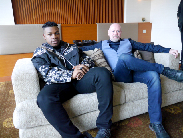We talked with Pacific Rim: Uprising's John Boyega and Steven S. DeKnight in a monster interview