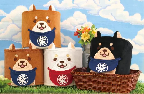 Japan continues to make pooping cute with adorable Shiba Inu toilet paper covers
