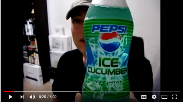 Cucumber Sprite? Japan was through with it before the rest of you all knew what to do with it