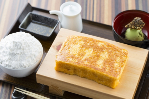 No yolk! Tamagoya egg café's new menu disguises French toast, pancakes as other breakfast foods
