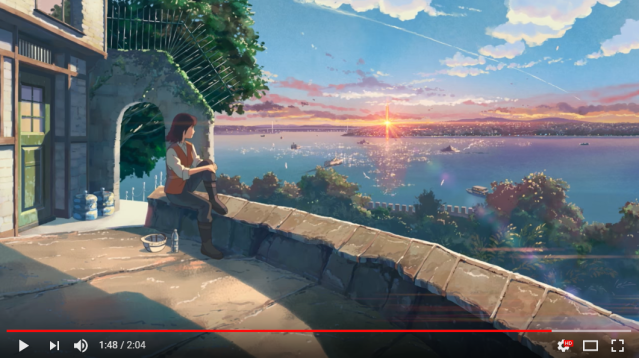 New Makoto Shinkai short anime is a gorgeous music video partially set in Singapore【Video】