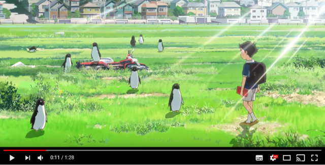 Utada Hikaru's new song part of trailer for gorgeous Penguin Highway anime movie【Video】
