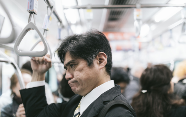 Man complains about pregnant women on Japanese train, creatively gets told to shut up