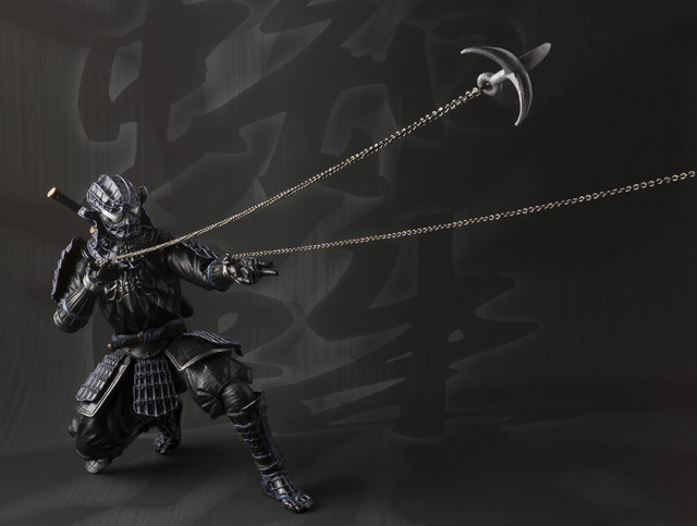 Spider-Man's black costume goes back to the past in this awesome samurai/ninja figure【Photos】