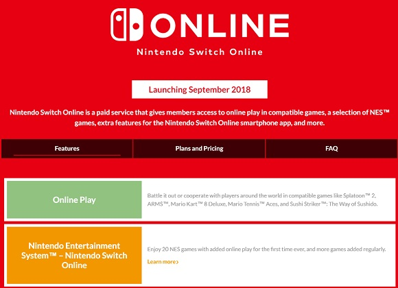 Nintendo Switch Online launches in September, comes with 20 free games and cloud save for a fee