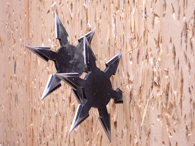 Ninja-star throwing contest now accepting applicants, grand champion gets a golden shuriken